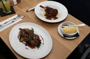 Kul Basti (Bottom) and Braised Lamb Shank (Top) at Kitchenette - Jack Downes - The Upcoming - 3