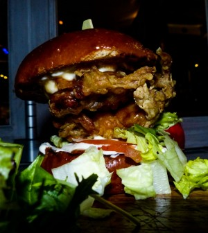 The Rum Kitchen- Soft Shell Crab Burger