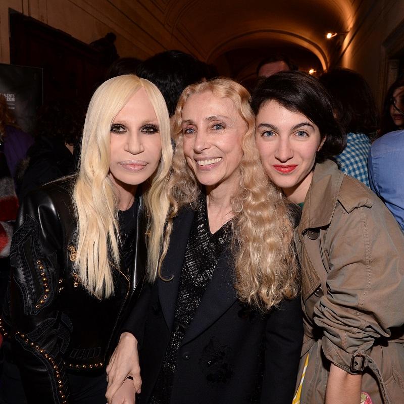 Donatella Versace;Franca Sozzani;Marta Ferri