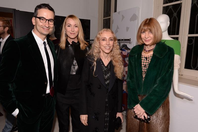 Federico Marchetti;Frida Giannini;Franca Sozzani;Anna Wintour