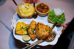 La Portes Des Indes restaurant in MArbel Arch-11