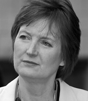 Caption: Deputy leader of the Labour party Harriet Harman has strongly denied claims she is a supporter of paedophilia. Photo: Steve Punter