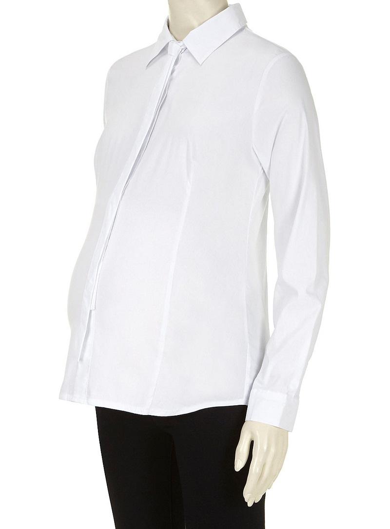 Dorothy Perkins Mamalicious Maternity White Shirt