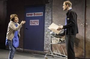 Imelda Staunton and Matthew Barker in Good People