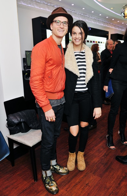 Oliver Proudlock and Grace McGovern 2