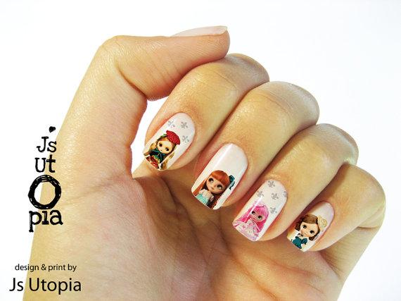 JSUtopia doll nails