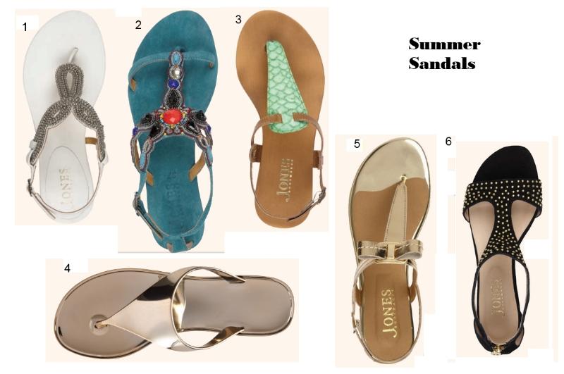 Jones sandals