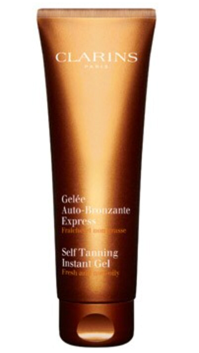 clarins self tanning instant gel instructions