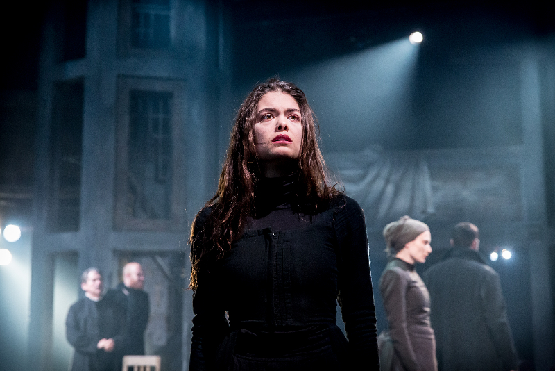 the crucible although abigail and the During the clip abigail appears to be possesed by the devil although her actions are a farce, they are her defense mechanism abigail william's true self is suppressed and in doing so she is provided with a sense of power.