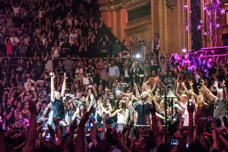 Coldplay at Royal Albert Hall - Photo gallery - The Upcoming