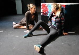 Shutters at Park Theatre. Joanna Kirkland and Yolanda Kettle. Photo credit Skirmantas Petraitis (3)
