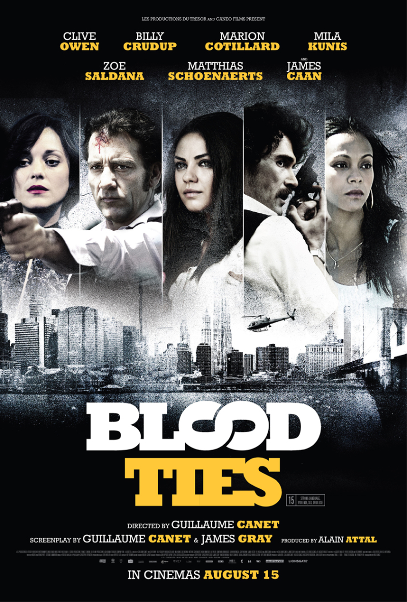 blood ties review the upcoming
