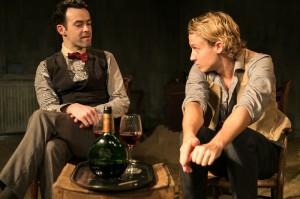 Damien Hasson (Garcia Lorca), Matthew Bentley (Juan). pic by Ed Clarke