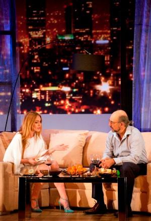 Lindsay Lohan (Karen), Richard Schiff (Bobby Gould) STP-D-190