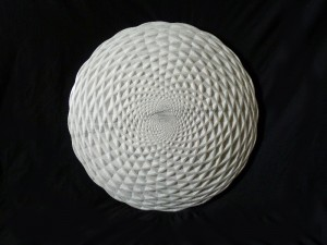 Tim Pomeroy, Pine Cone, 2014, Marble, 60 cm diameter, courtesy of The Fine Art Society (1)