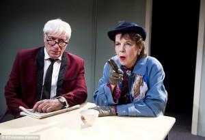 Ivy & Joan image - actors Jack Klaff and Lynne Miller