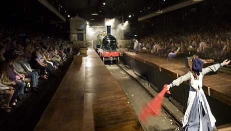 The Railway Children at King's Cross