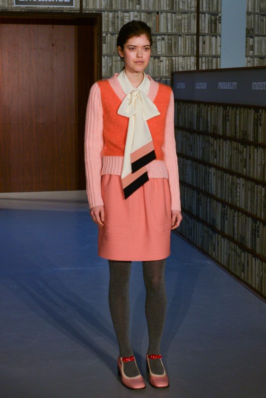 LFW AW15- Orla Kiely - Krish Nigari- The Upcoming -30