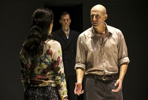 Mark Strong and Phoebe Fox