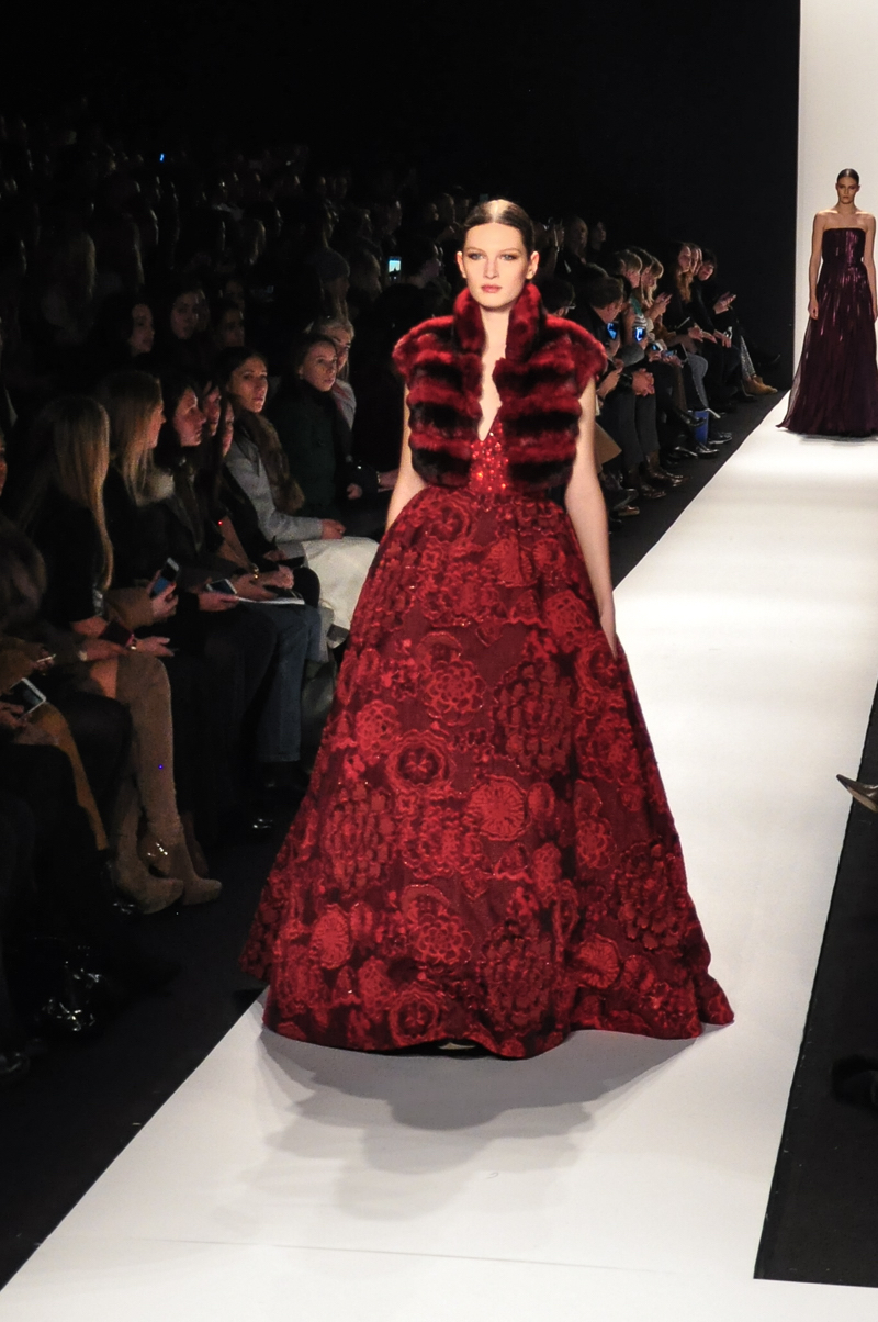 Dennis Basso catwalk show report | NYFW A/W 2015 – The Upcoming