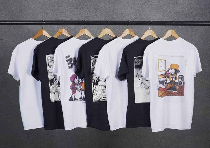 re launch of the cult 90s clothing brand dready the upcoming