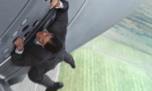 mission impossible 5 crazy stunt tom cruise airplane