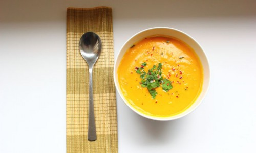Sweet Potato & Coconut Soup 1