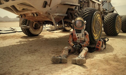 The Martian still - matt damon