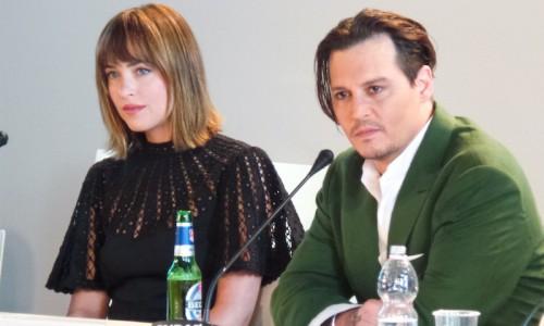Venice Black Mass press conference - Johnny Depp Dakota Johnson Joel Edgerton Scott Cooper - The Upcoming - Laura Denti -5