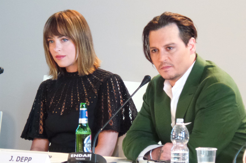 Venice Black Mass press conference - Johnny Depp Dakota Johnson Joel Edgerton Scott Cooper - The Upcoming - Laura Denti -5