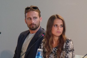 Venice Danish Girl press conference - Eddie Redmayne Amber Heard Alicia Vikander Tom Hooper Matthias Schoenaerts - The Upcoming - Laura Denti -17