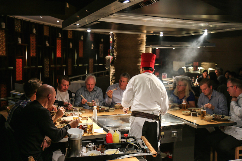 Benihana In Piccadilly Restaurant Review The Upcoming