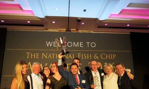 fish and chip awards at Lancaster hotel - Sophie Bluestone  - The Upcoming - 3