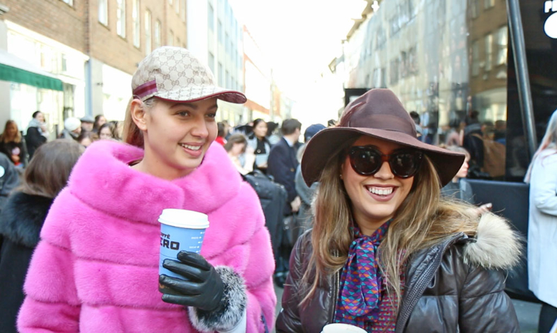 London Fashion Week Street Style Interviews Day One A W 2016 The Upcoming