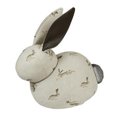 Easter hare doorstop
