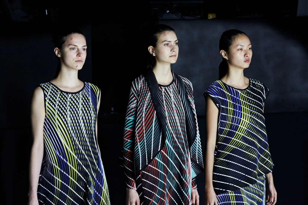 PFW AW16 - Issey Miyake backstage - Ambra Vernuccio - The Upcoming - 7