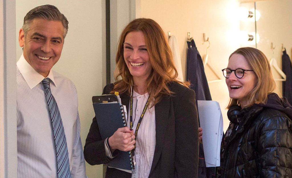 money monster jodie foster set george clooney Atsushi Nishijima sony