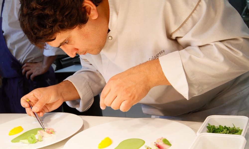 The Food Interviews Series Chef Mauro Colagreco Of