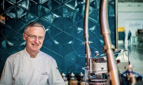 The Perfectionists Cafe at Heathrow Terminal 2 - Chef Julian O'Neill
