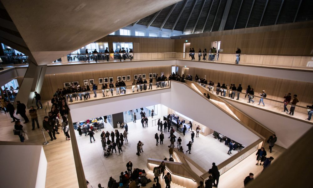 The new design museum opens in kensington the upcoming for Museum designers