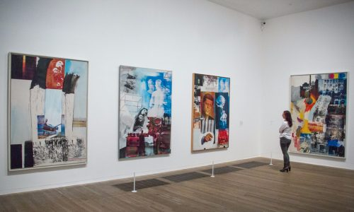 Robert Rauschenber at the Tate Modern