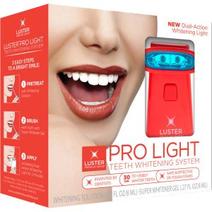 Luster Pro Light Teeth Whitening System