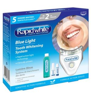 Rapid White Blue Light Tooth Whitening System