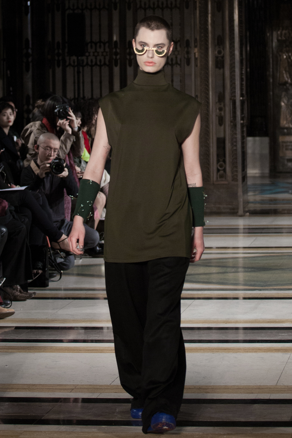 LFW AW17 - Harry Xu - Amy Smith - The Upcoming-8
