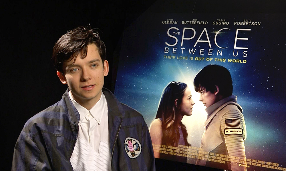 The Space Between Us: An interview with Asa Butterfield ...