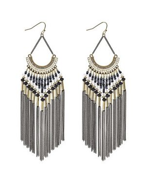 Bead and Tassel Earrings, £15