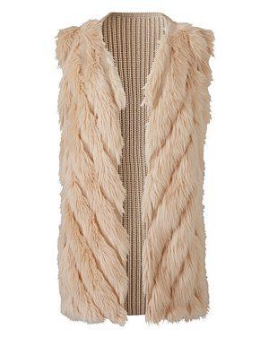 Faux Fur Gilet, £40