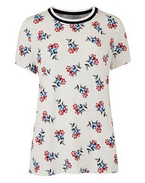 Floral T-Shirt, £18