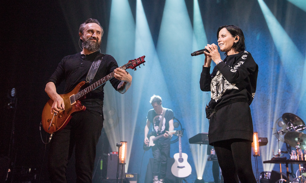The Cranberries at the London Palladium - Filippo L'Astorina - The Upcoming -47 featured
