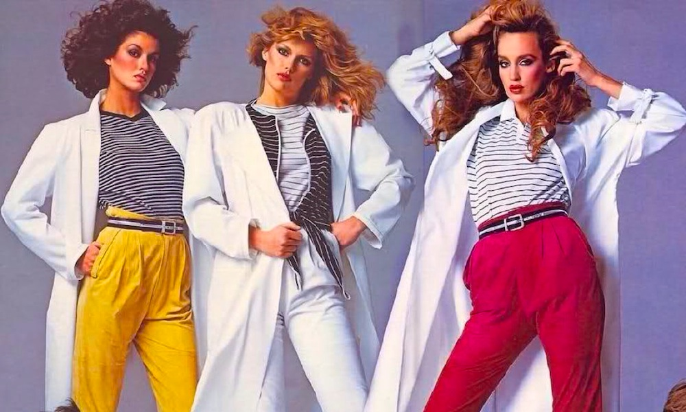 1980s Fashion Is Back And Brighter Than Ever